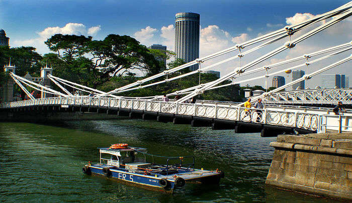 footbridge for the locals