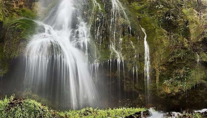 mesmerizing waterfall