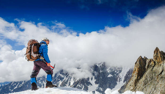 Awesome Mountaineering in the Alps