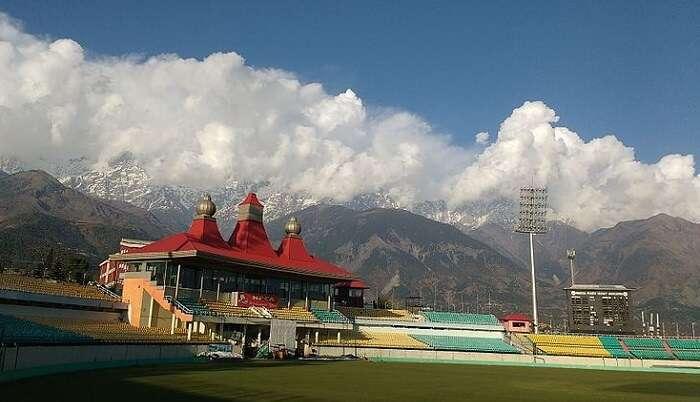beautiful cricket stadium