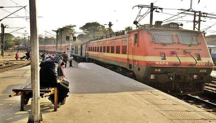 Dibrugarh Town Rajdhani Express