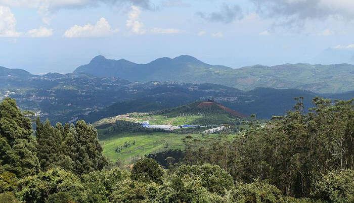 Doddabetta Peak in Ooty