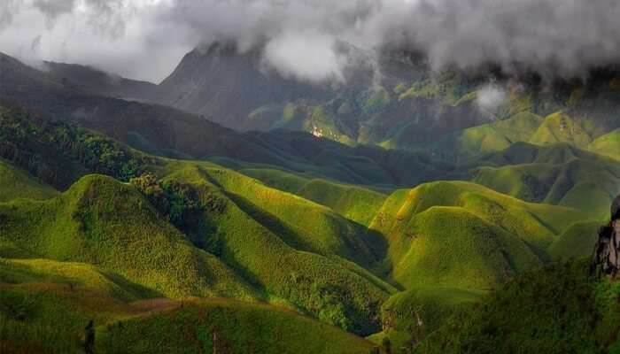 scenic mountain valley