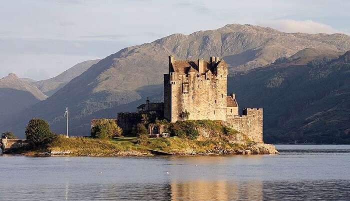 seaside castle in Skye