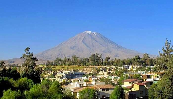 El Misti Volcano in Arequipa