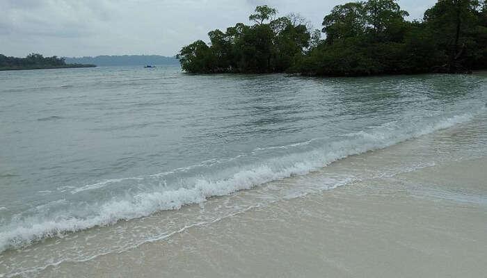 beachside at Andaman