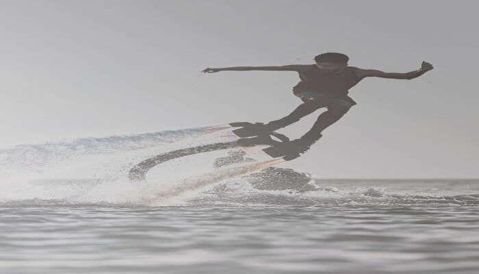 Flyboarding, Chopdem Boat Jetty Sea Water Sports