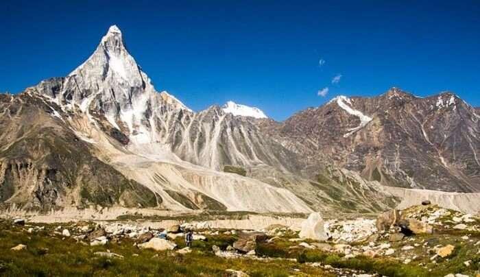Gaumukh hills