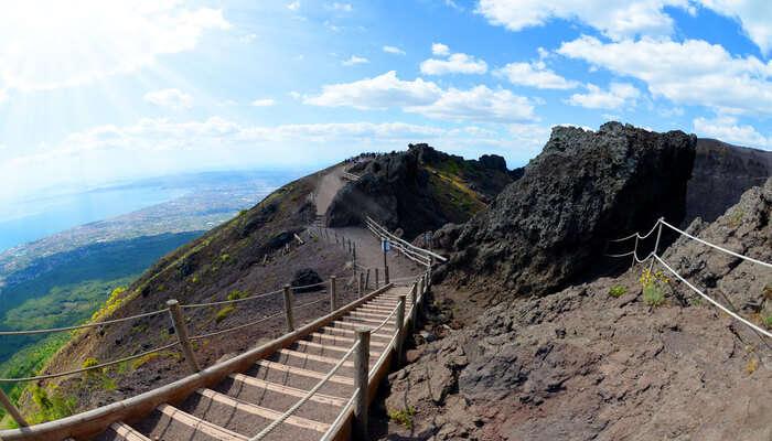 Go Hiking At Mount Vesuvius