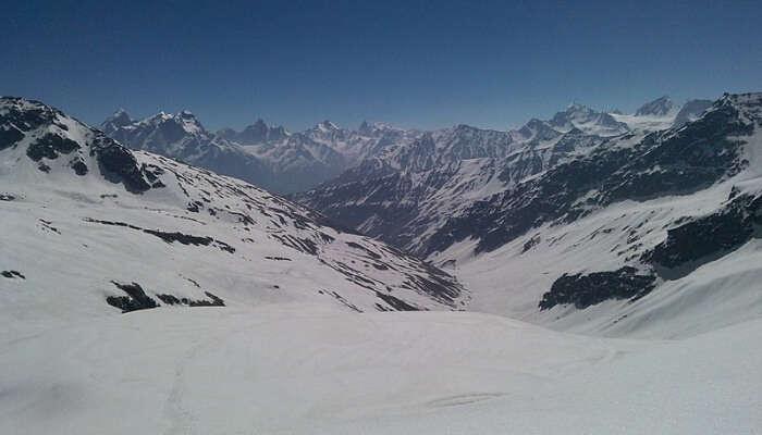 rekking In Rupin Pass, Himachal