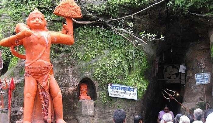 explore this cave temple