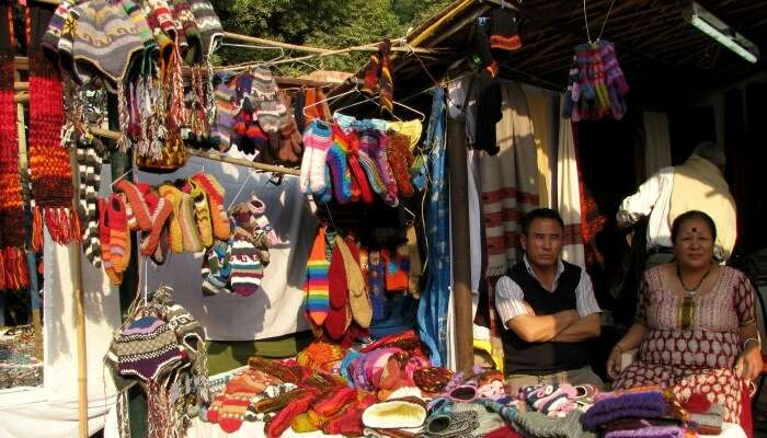 woolen market