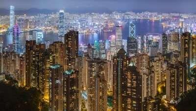 Hong Kong Harbour Night 2019