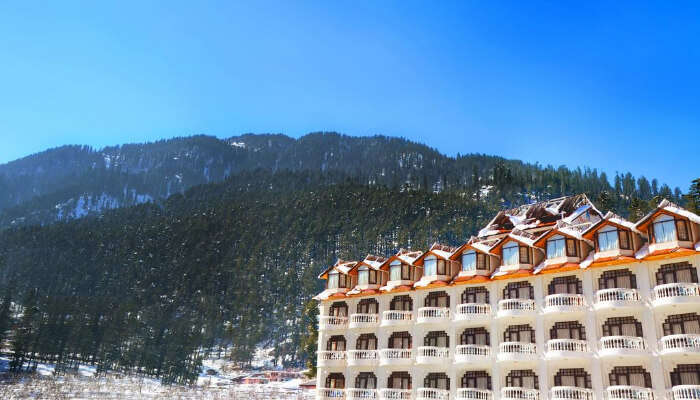 Hotel Manali Heights In Manali
