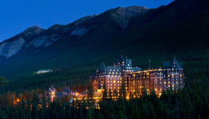 Hotel view Alberta