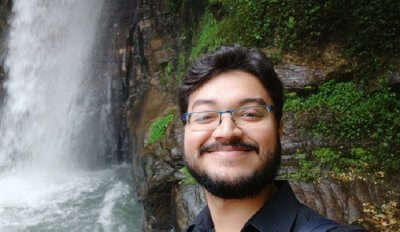 at Kanchenjunga Waterfalls
