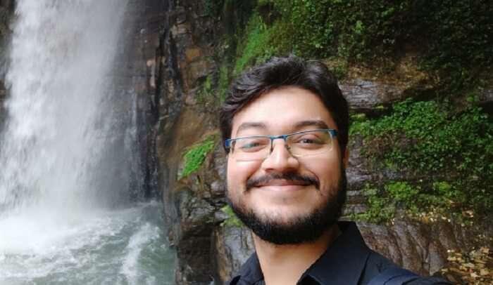 at Kanchenjunga Waterfalls
