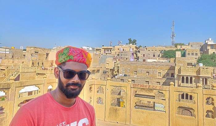 enjoying the solo day out in pushkar