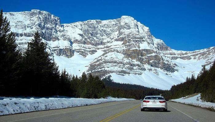 Ride To The Glaciers