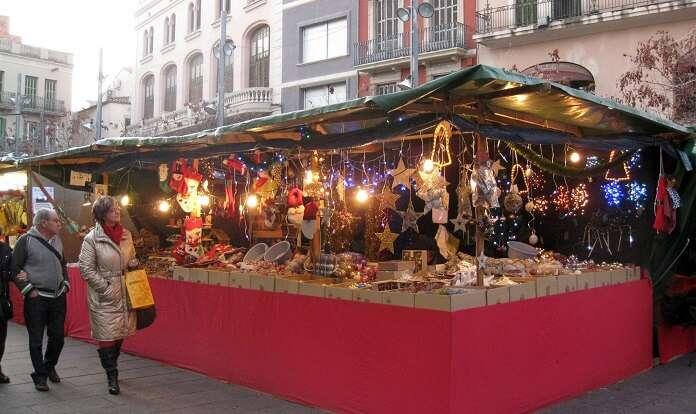 La Fira de Santa Llúcia is Barcelona christmas market