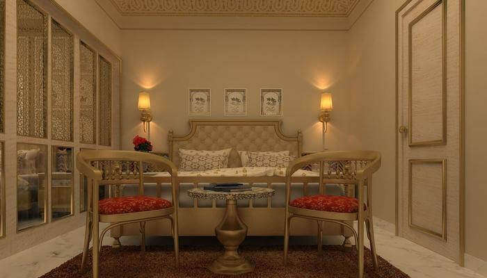 elegant Mughal architectural style