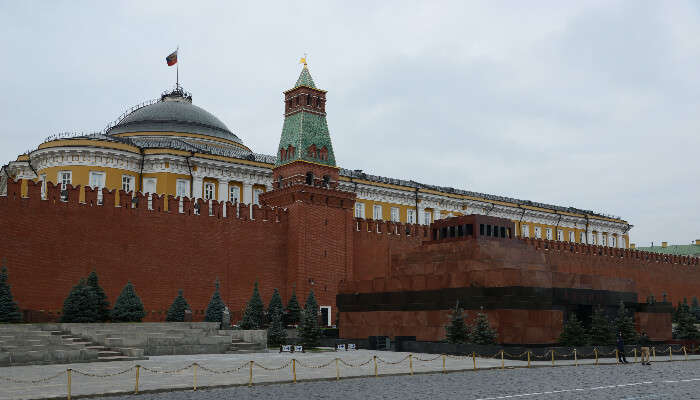 Lenin's Mausoleum, Russia