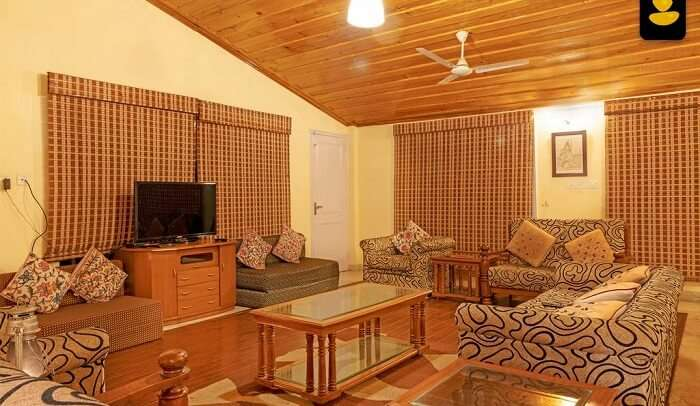 a fully equipped resort with facilities