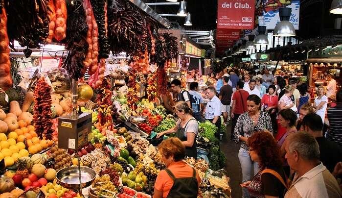 Markets In Barcelona