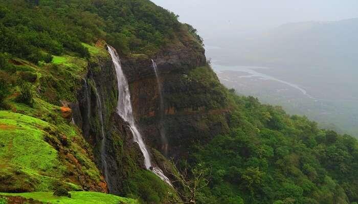 Matheran Waterfall