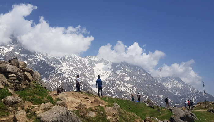 a popular vacation spot in Dharamshala
