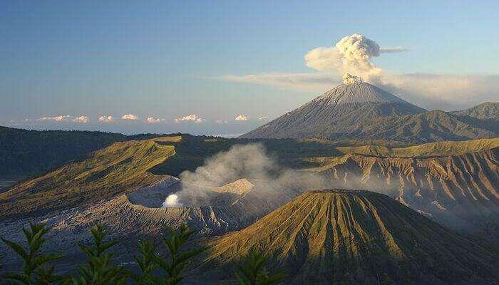 volcano view