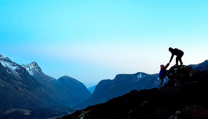 Mountaineering In Sikkim Cover Image