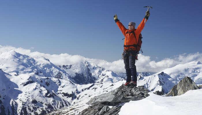 Mountaineering in New Zealand