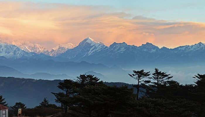 impressive peak of Mt. Jopuno