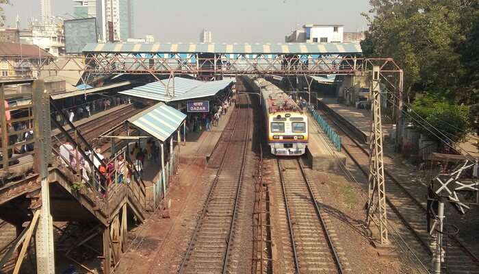 Drone View of Railway station