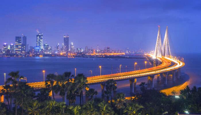 Beautiful View of Mumbai