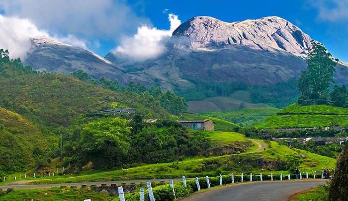 quiet hill station in South India