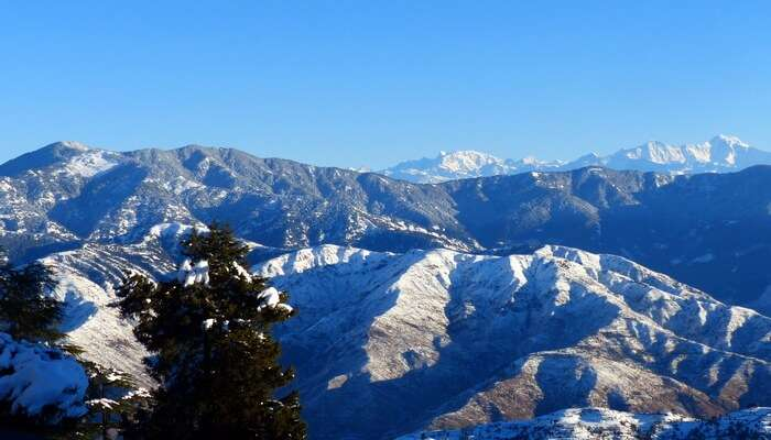 Beautiful Mountains View