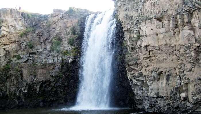 most serene waterfalls