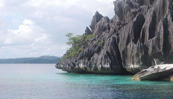 Palawan Island in Philippines