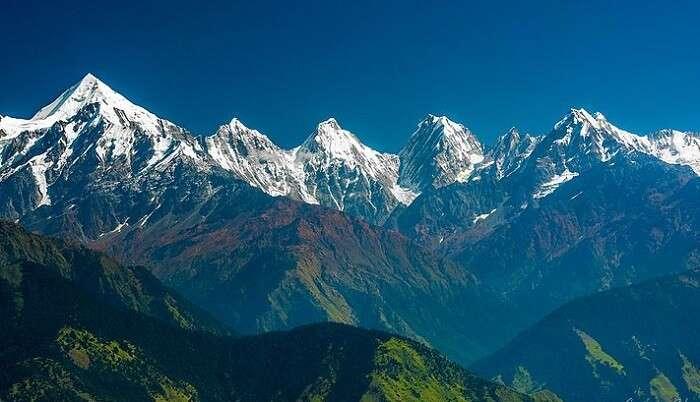 himalayan ranges of Panchachlui