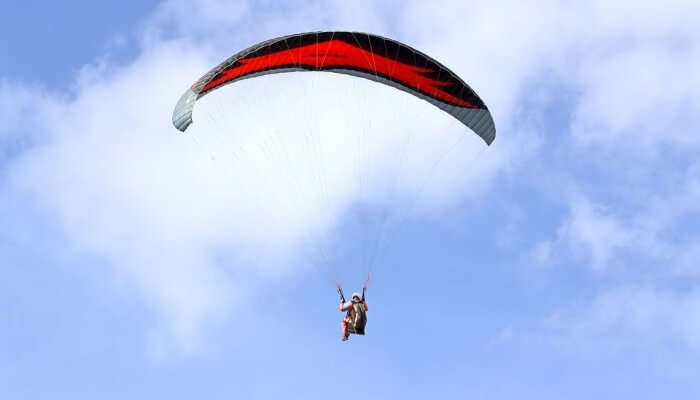 Paragliding In Kamshet, Lonavala