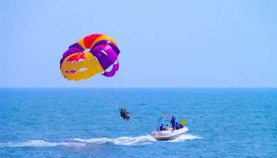 Parasailing In Goa view