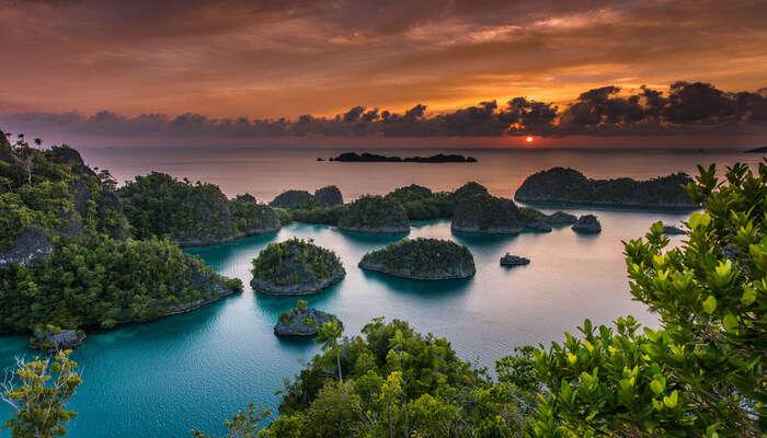 Raja Ampat Island in Indonesia