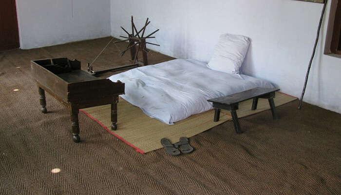 Gandhi's Bedroom