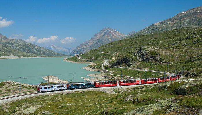 Ride The Bernina Express