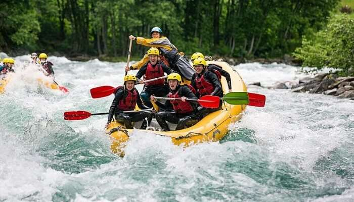 River Rafting Sikkim