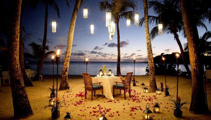 Romantic Beach Resorts in India