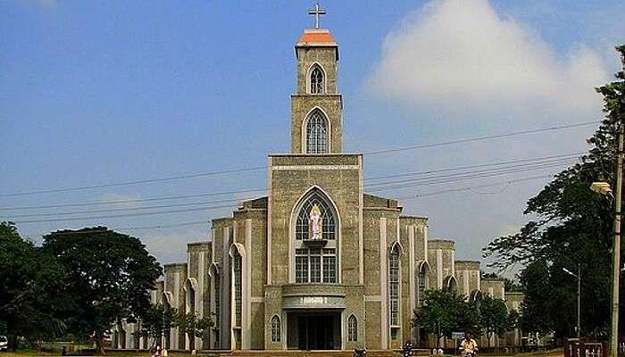Sacred Heart Church shimoga karnataka