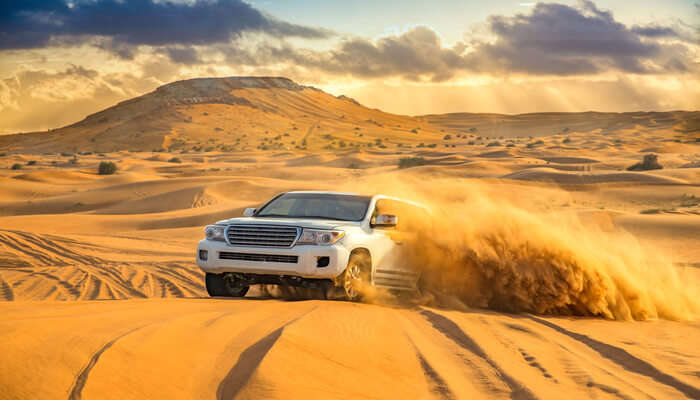 Sahara Safari In A Jeep